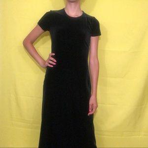 🌼NEW🌼 1990s velvet maxi dress